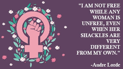 This IWD, let's take inspiration from women who fought for our freedom